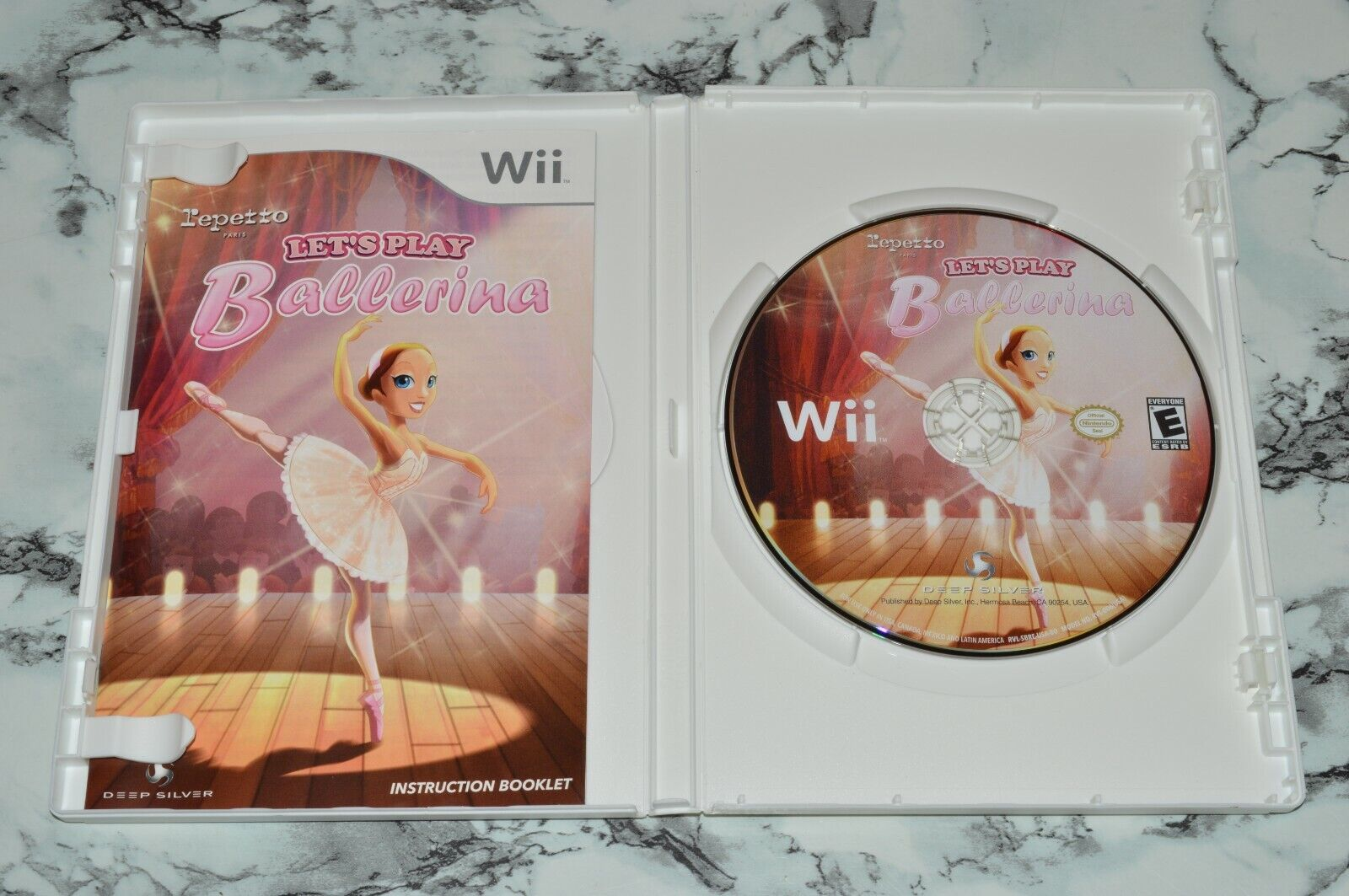 Let s Play Ballerina Nintendo Wii -- Complete W/ Manual - $11.18