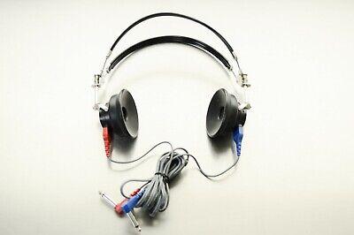 Telephonics Ambco Welch Allyn Madsen Tdh-39p Headset 296d000-9 Audiometry