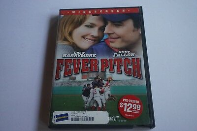Fever Pitch (DVD, 2005 WIDESCREEN MOVIE FEVERPITCH Drew Barrymore, Jimmy Fallon