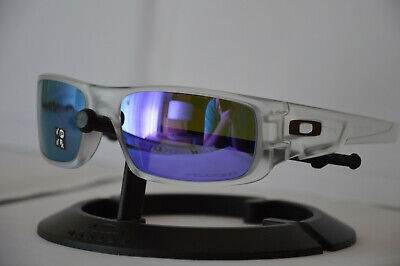 OO9239-09 Oakley Crankshaft Matte Clear Violet Polarized Sonnenbrille ()