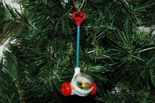 Fisher Price Corn Popper Christmas Ornament