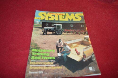 White Tractor Better Farming Summer 1979 Dealer