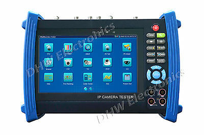 "IPC-8600MOVTADHS 7""Touch screen ONVIF IP/HD-AHD/TVI/CVI/ SDI Camera FULL Version"