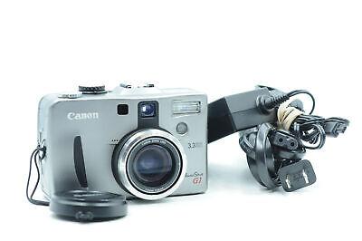 Canon PowerShot G1 3.3MP Digital Camera w/3x Zoom                           #706