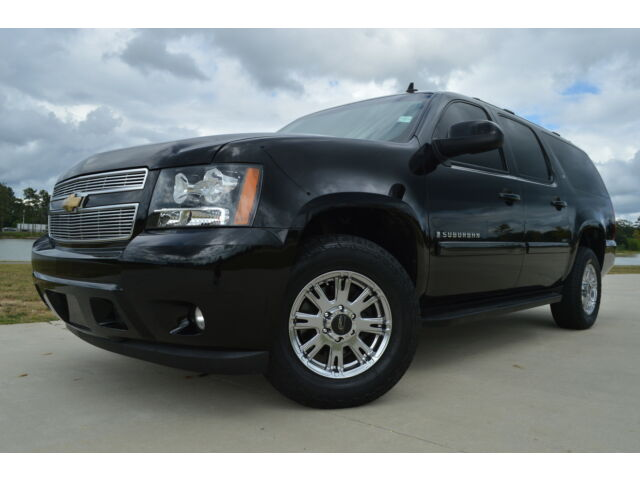 2009 chevrolet suburban 4x4 crew cab lt dvd black beauty. Black Bedroom Furniture Sets. Home Design Ideas
