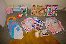 Package of Baby gear - High chair, magazines, toys, puzzles Adelaide CBD Adelaide City Preview