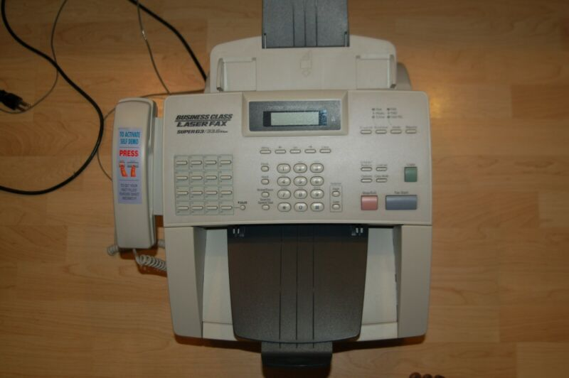 Brother IntelliFax 4100e Little Use, Great Condition
