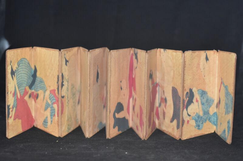 ancient painting shunga artistic erotic viusal painting book NA03