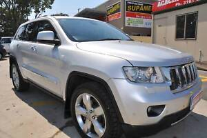 2012 Jeep Grand Cherokee WK Limited Wagon 5dr Spts Auto 5sp 4x4