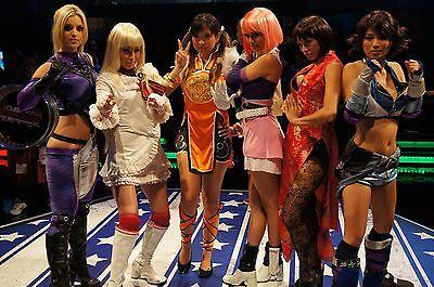 Tekken Girls. Foto: Shuichi Aizawa