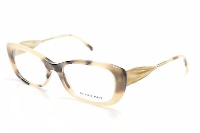 BURBERRY 2203 3501 New Authentic Rx EYEGLASSES 52-17-135