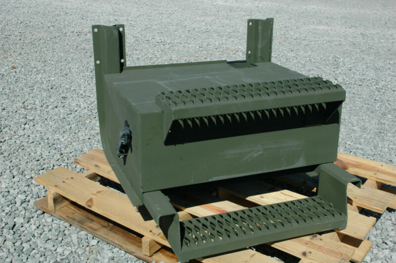 Battery box, M915A1 mil. tractor, line haul  6160-01-145-4330