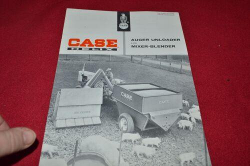 Case Tractor Auger Unloader & Mixer Blender Dealer