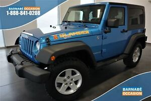2010 JEEP WRANGLER SPORT ÉDITION ISLANDER +A/C+MAGS