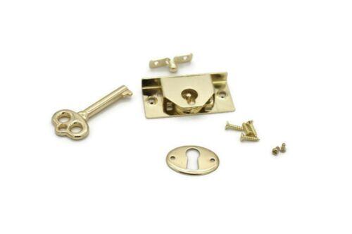 Small Cabinet Lock Chest Lock With Key Half Mortise Lock Box Jewelry Box Lock