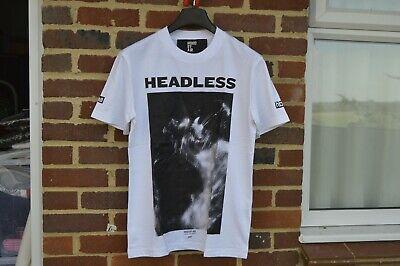 Hood By Air White Headless Print T-Shirt | Size L SS16 RRP $285