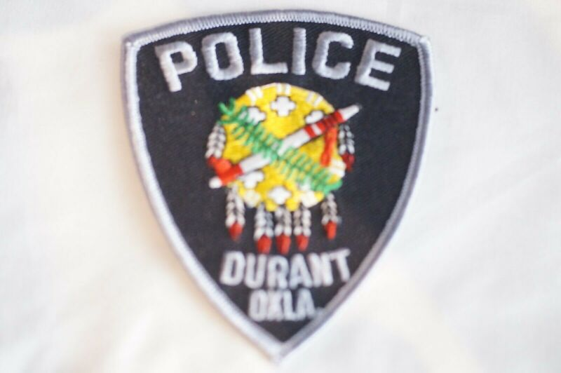 US Durant Oklahoma Police Patch