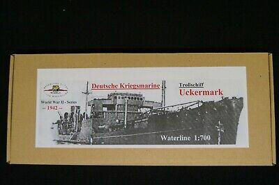 Gebraucht, HP Models 1:700 WL  Troßschiff Uckermark der  Deutschen Kriegsmarine -1942-   gebraucht kaufen  Rees