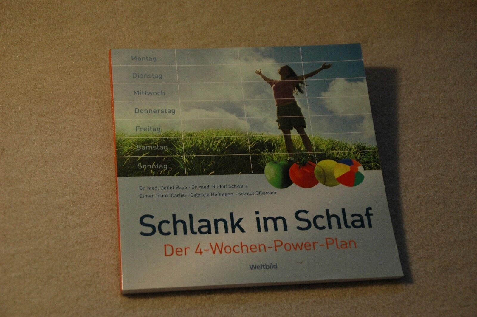 """Schlank im Schlaf """"Der 4-Wochen-Power-Plan""""  Diät,Abnehmen,Ernährung"""