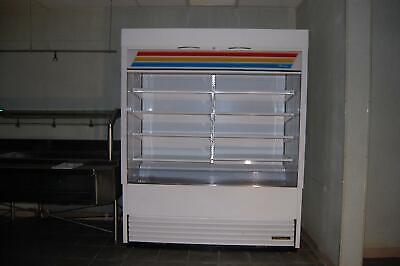 True Tac-72 Open Air Display Cabinet Food Beverage Cooler Refrigerator 208-230v