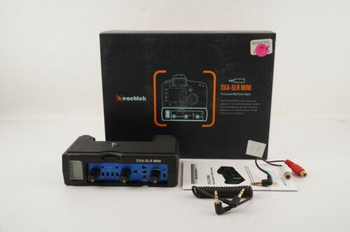 Beach Tek  #DXA-SLR Mini Audio Adapter for DSLR - New!