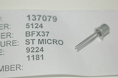 Sgs Bfx37 Bjt Bipolar Power Transistor New Lot Quantity-10