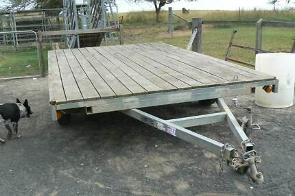 Multiuse stock, horse, hay, mowing or car trailer with crate. Bundaberg Central Bundaberg City Preview