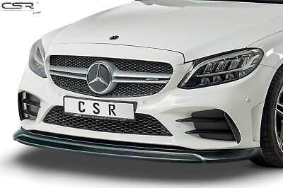 Cup Spoiler Front Ansatz Lippe Schwert für Mercedes Benz C43 AMG 205 Hochglanz