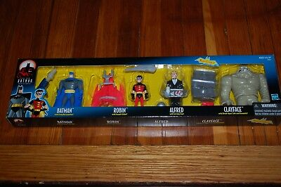 - Batman Robin Alfred Clayface Batman Animated Series BAS-MIB-4 Pack