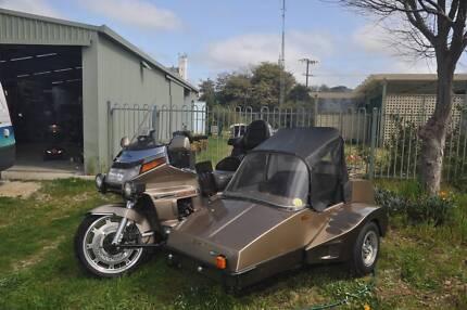 Goldwing 1500 & sidecar