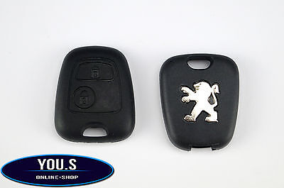 PEUGEOT Spare 2 Buttons buttons Radio Remote Control Key Casing Cover - NEW
