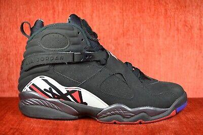 best loved 5d44f 9a48c CLEAN Nike Air JORDAN 8 VIII Retro 2013 Playoff Black 305381-061 Size 10.5