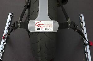 ACEBIKES Zurrschiene Zurröse Transportsicherung Motorradtransport Motorrad MX DB
