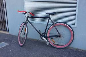 Great condition single speed/ fixed gear medium frame bike North Melbourne Melbourne City Preview