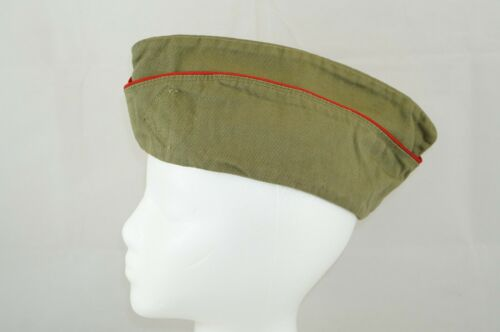 Vintage Official Boy Scouts of America BSA Garrison Cap Hat Size Large *No Patch