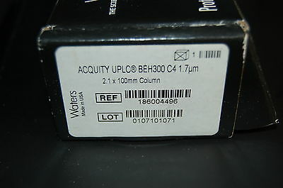 Waters Acquity Uplc Hplc Column Beh300 C4 1.7 Um 2.1x100 Mm 186004496