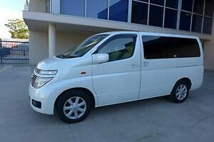 MY 2004 Nissan Elgrand  Only  58300Km 5 Year Warranty NEW Leather Wetherill Park Fairfield Area Preview