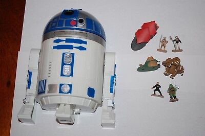 R2-D2/Jabba's Palace Micro Machines Playset-Star Wars Return of the Jedi Complet