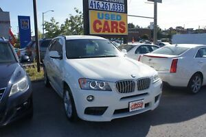 2012 BMW X3 | M PACKAGE | LEATHER | xDrive35i