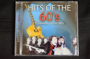 Hits of the 60's - various inc Troggs, Bee Gees, Gerry & PM etc CD New (B5)