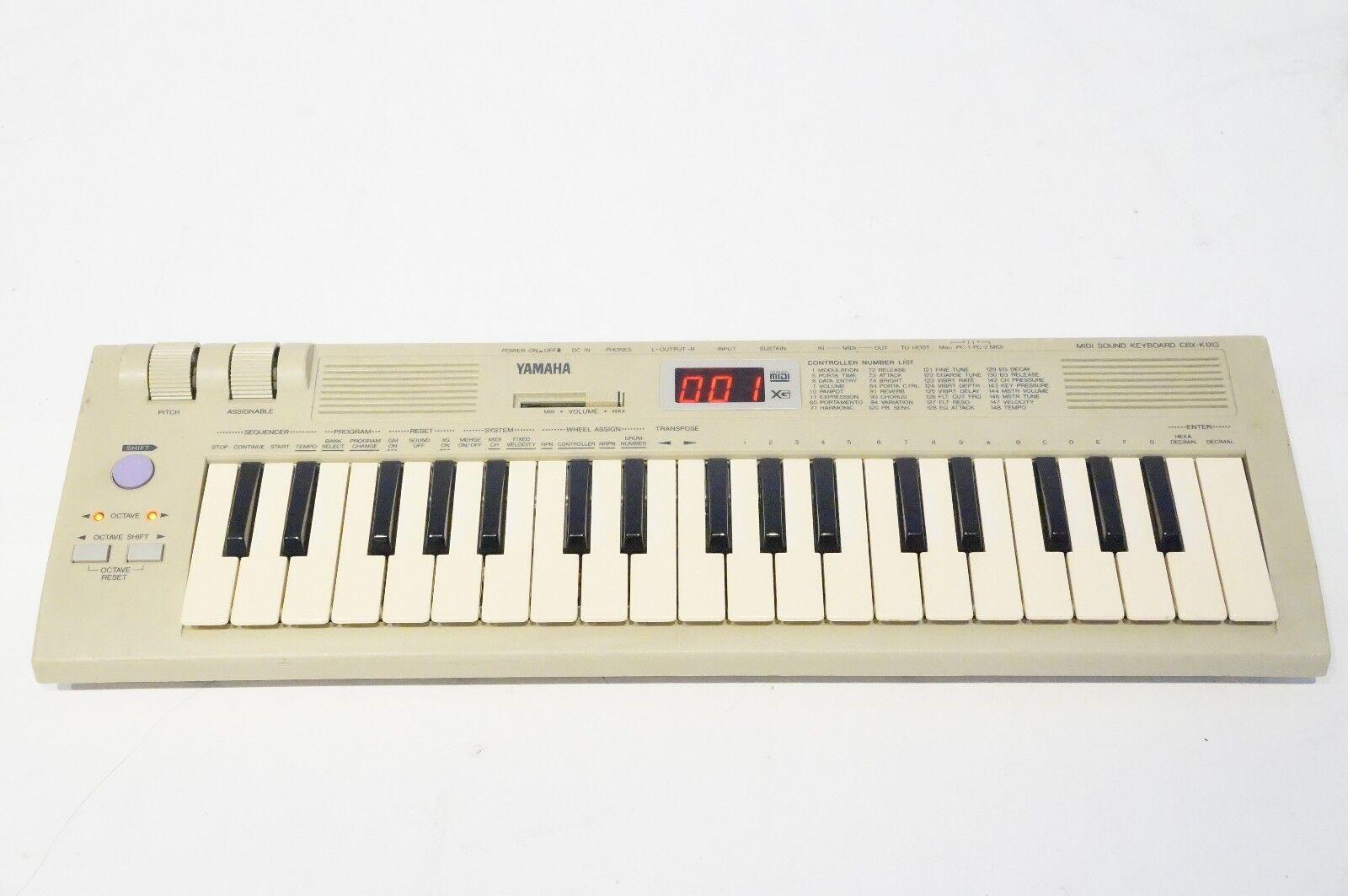 YAMAHA CBX-K1XG 37 MINI MIDI SOUND KEYBOARD MU50 Sound Module Build-in Speaker