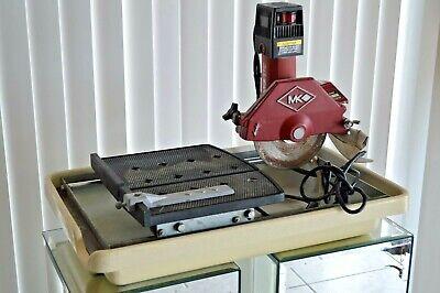 Vintage Mk Diamond Mk-370 12 Hp 5.3 Amps 7 Wet Cutting Tile Saw