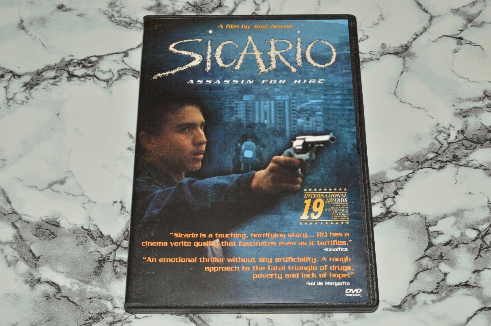 Sicario - Assassin For Hire - A Film By Jose Novoa DVD, 2003  - $12.68