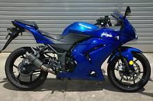 Kawasaki Ninja 250 with warranty, low km, light marks, low price! Adelaide CBD Adelaide City Preview