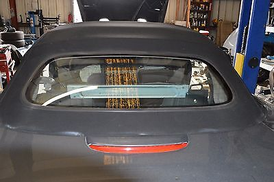 00-04 JAGUAR X100 XKR CONVERTIBLE SOFT TOP ROOF COVER BLACK OEM # 3