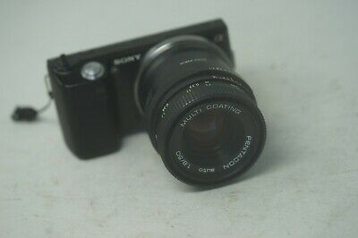 SONY E MOUNT ADAPTED 50MM F1.8 PENTACON PRIME LENS ALL A7 NEX,A6000