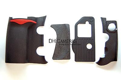 4 Pieces Repair Part of Grip Rubber Unit for Nikon D300 DSLR CAMERA Replacement