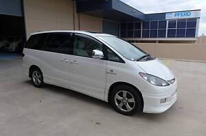 2003 Toyota Estima White Dual Sunroof 2 Year Warranty Low KM 3.0L Wetherill Park Fairfield Area Preview