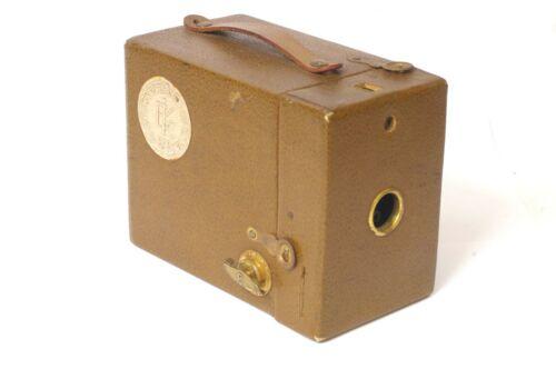F90321~ Anniversary Kodak Box Camera – Uses 120 Film - Nice Clean & Strap