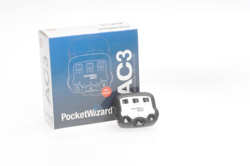 PocketWizard Flex AC3 Zone Controller Canon AC3-C #857